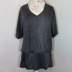 Kenneth Cole Snake Print Top